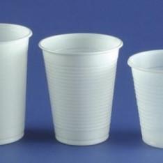Gobelets et verres embald cor emballage jetable f te coiffure d coration - Decoration gobelet plastique ...